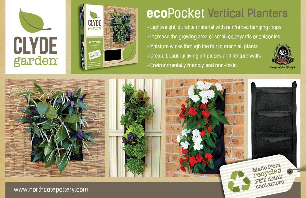 Clyde Garden ecoPocket Vertical Gardens