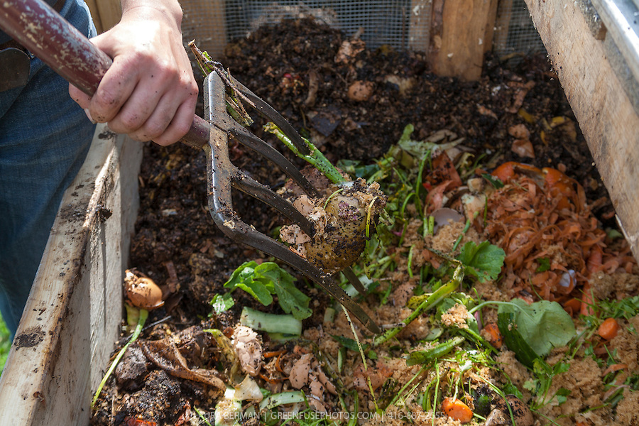 Aerating Your Compost